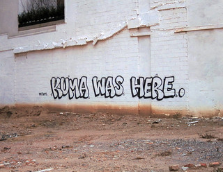 Kuma was here