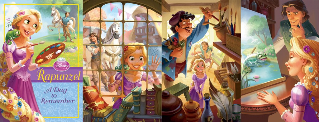 art of rapunzel a day to remember chapter book disney