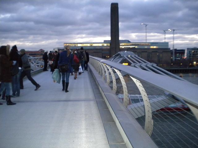 Millenium Bridge y Tate Modern