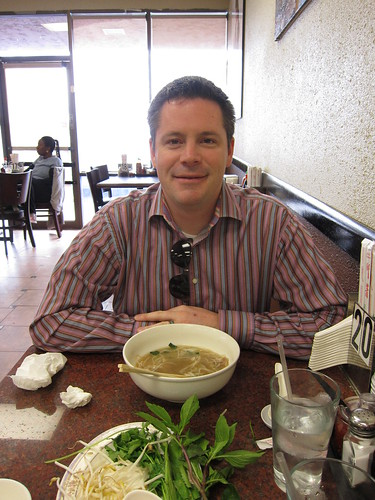Chris at Pho Thang