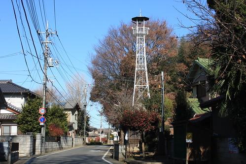 平方の火の見櫓(上尾市)