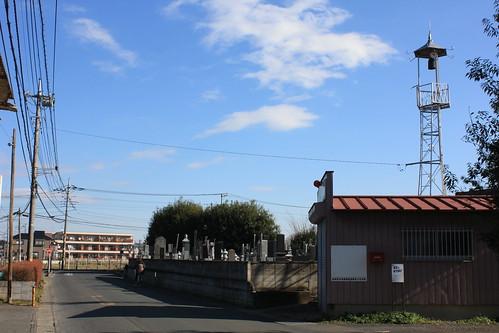 小敷谷の火の見櫓(上尾市)