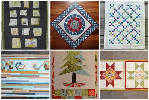 2011 - Wall quilts, swap quilts I sent