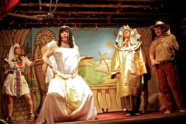 Cleopatra, King Tuten K Moon, Indy