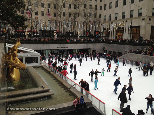 NYC Times Square New Years Eve 2012_Rockefeller Center Ice Rink