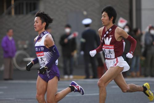 駒澤大学 窪田忍選手 & 早稲田大学 前田悠貴選手 #6