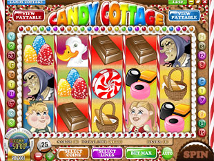 Candy Cottage Slot Machine