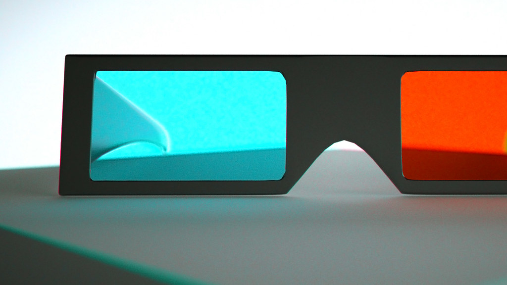 Put on your 3D Glasses