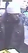Robbery suspect still