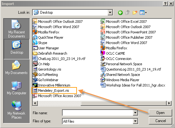 File navigation