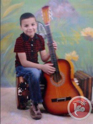 Muhammad Ali Dirbas, seven years old, was detained by Israeli police. Photo via Maan News Agency.