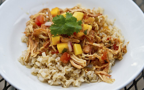 crock pot mango chicken