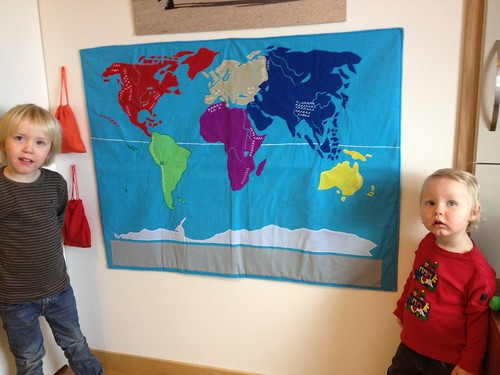 Inviger julklappen från farbror Fredrik