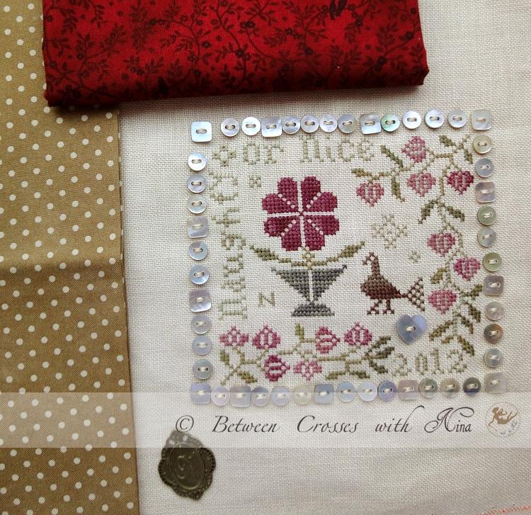 Blackbird designs community blog for embroiderers for Christmas garden blackbird designs