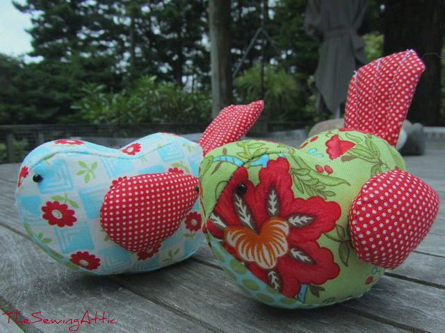 Little bird pincushion