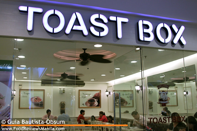 Toast Box facade