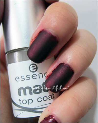 Shu Uemura with essence matt top coat
