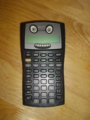 Happy calculator is happy