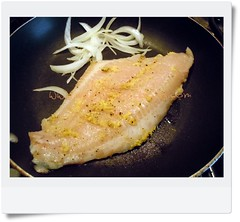 Cocinando el pescado