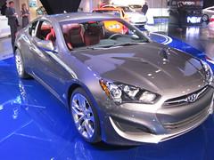 automobile(1.0), automotive exterior(1.0), wheel(1.0), vehicle(1.0), performance car(1.0), automotive design(1.0), rim(1.0), auto show(1.0), hyundai genesis coupe(1.0), bumper(1.0), land vehicle(1.0), coupã©(1.0), supercar(1.0), sports car(1.0),