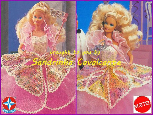 Barbie baile de máscaras 1991 costume ball barbie 1991