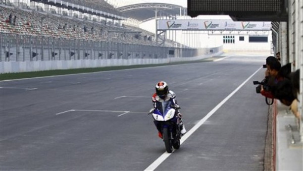 India Jorge Lorenzo