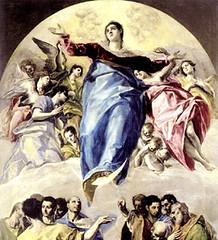 El Greco (1577), Asunción de la Virgen María