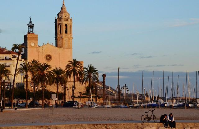 Esglèsia de Sant Bartomeu i Santa Tecla, Sitges, Garraf -1889