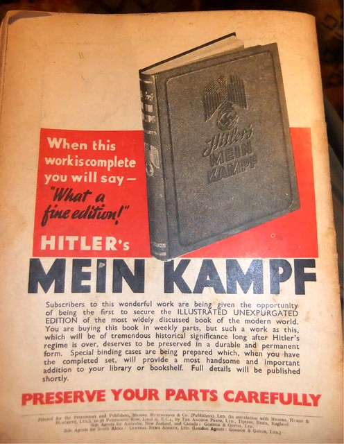 Mein Kampf - advert