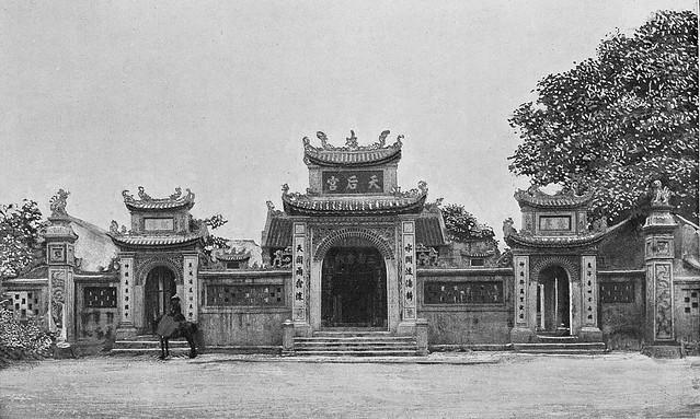 Tonkin - Vinh, pagode des Chinois