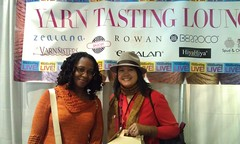 Dorian and SBL at the Yarn Tasting Lounge_m