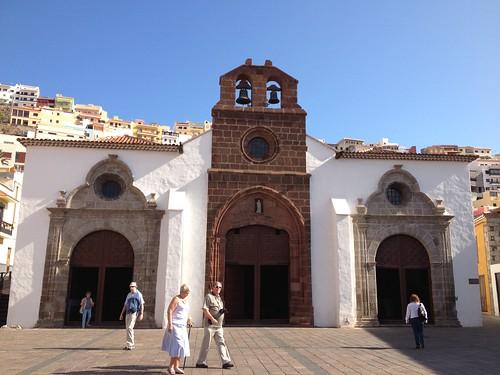 Iglesia de la Asunción, en San Sebastián de La Gomera