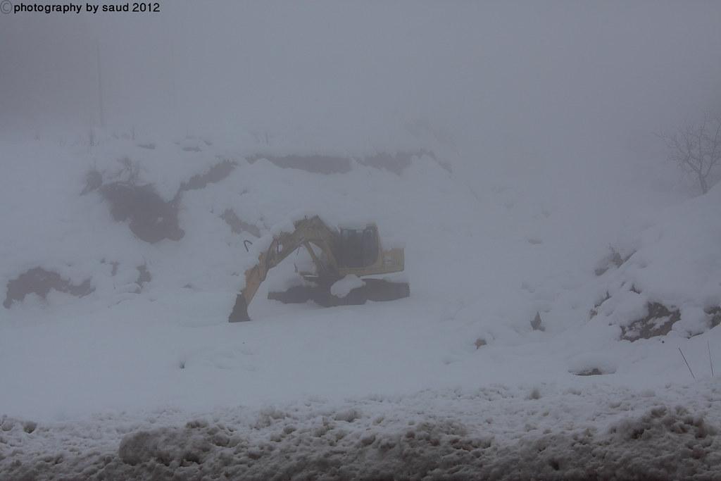 بيروت الشتاء مايحمله وثلوج وأمطار وضباب 6697195669_8bf33f4be