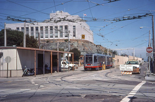 19990822 04 Muni LRT DuBoce @ Church St.
