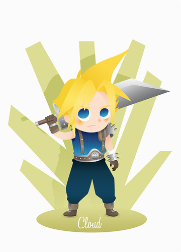 Cloud Strife by ideasconalas