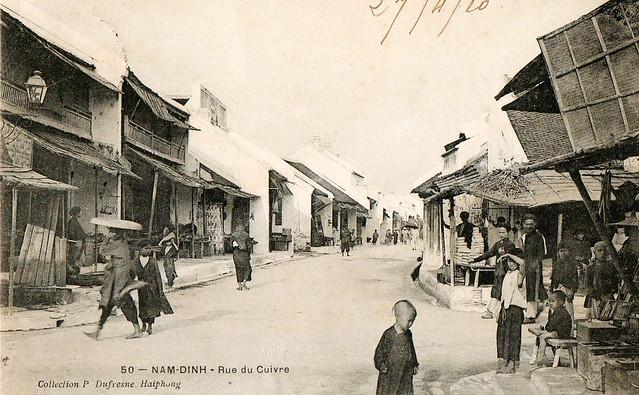 TONKIN - Nam-Dinh - Rue du Cuivre