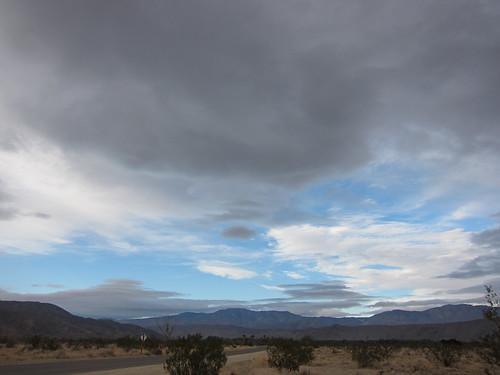 Borrego Springs, sky, clouds IMG_9089