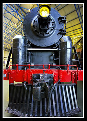 Chinese Steam Engine Front