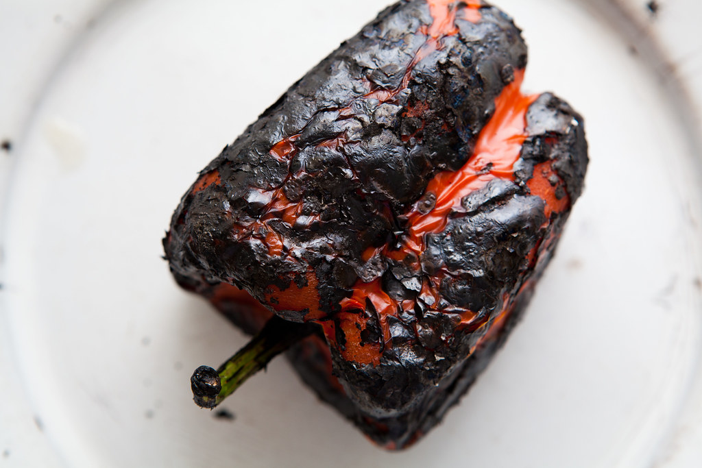 Fire-roasted pepper