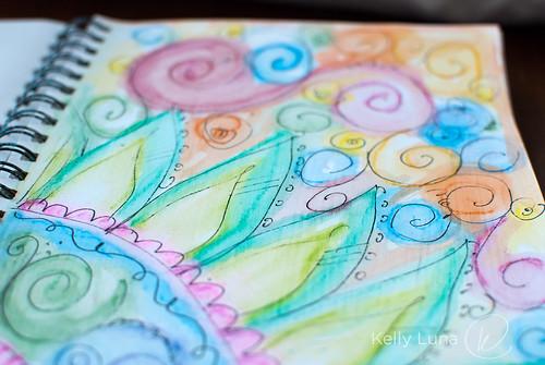 swirl closeup