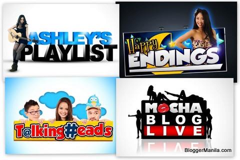 "Flippish.com Shows: ""Talking Heads"", ""Mocha Blog Live"", ""Ashley's Playlist"" and ""Happy Endings"""