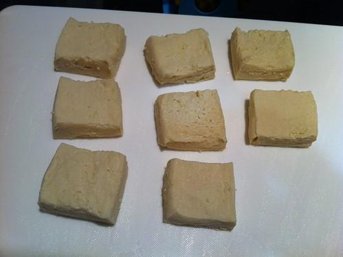 高野豆腐 完成