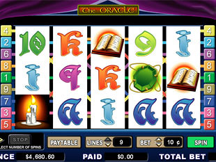 The Oracle slot game online review