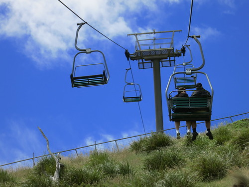 chairlift up to The Nut.