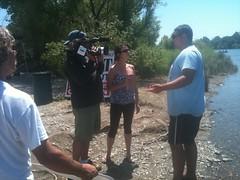 American River Channel- Volunteer Media Coverage