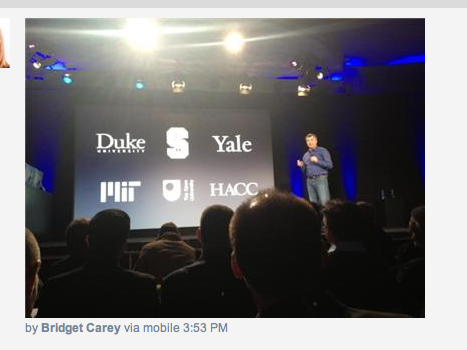 OU gets a mention then at #appleed announcement?