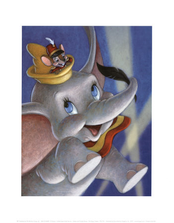 Dumbo-and-Timothy-Mouse-The-Magic-Feather-Posters