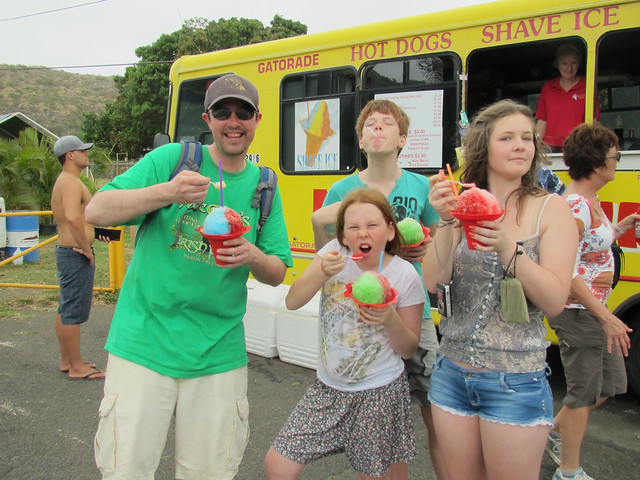 Shave Ice Truck