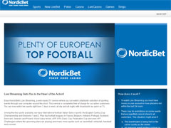 Nordic Bet Sports Online TV
