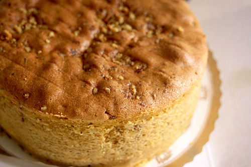 Walnut cake - one of our favourites